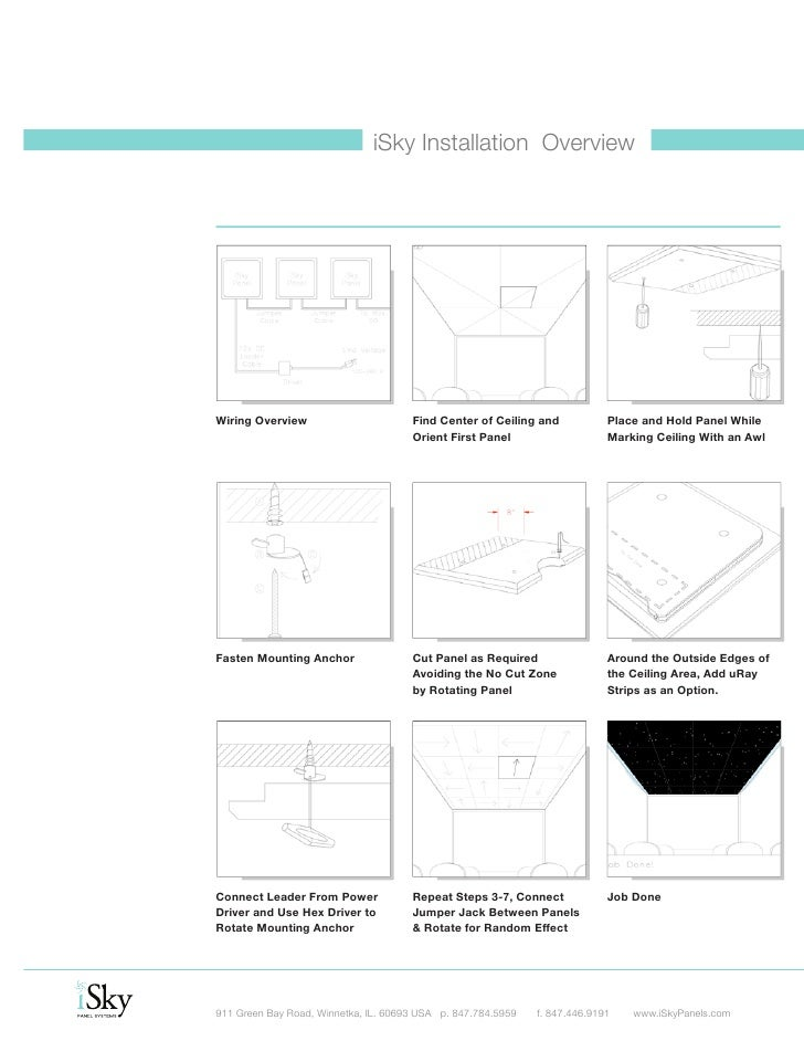 isky panels from fiberoptic studio