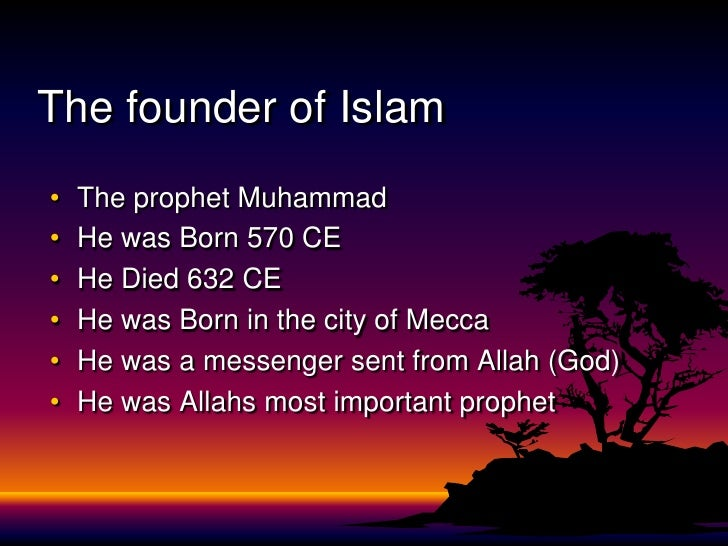 An analysis of the topic of the bible about muhammad and the prophet of islam