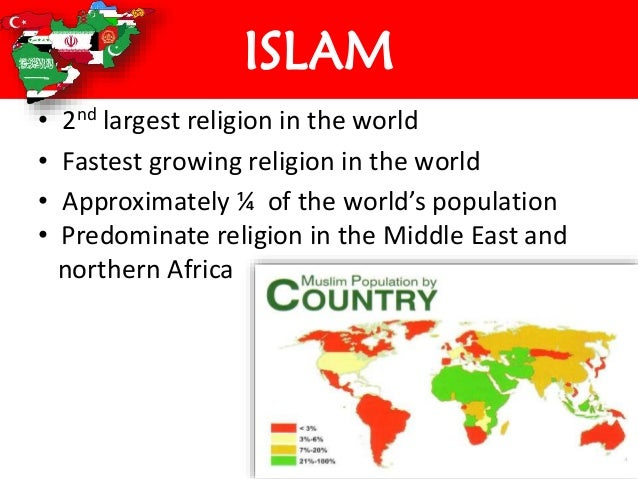 Islam - The fastest growing religion