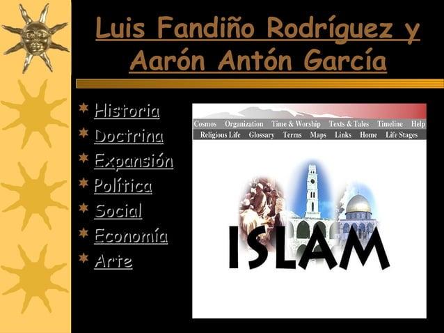 Luis Fandiño Rodríguez yLuis Fandiño Rodríguez y Aarón Antón GarcíaAarón Antón García  HistoriaHistoria  DoctrinaDoctrin...