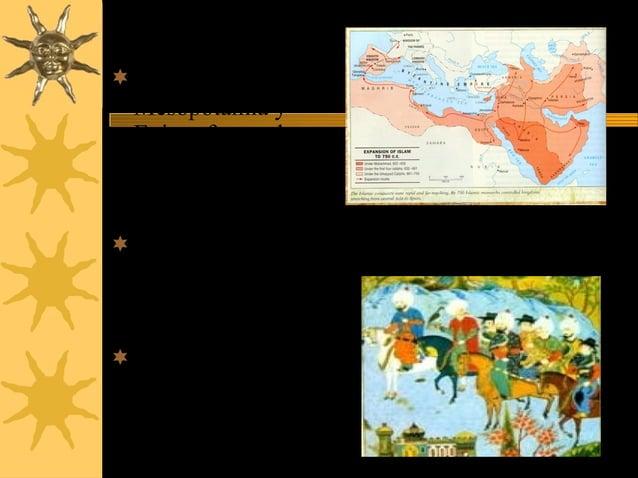 Siria , Palestina , Mesopotamia y Egipto fueron las ciudades mas importantes en la conquista del Islam Los limites fuero...