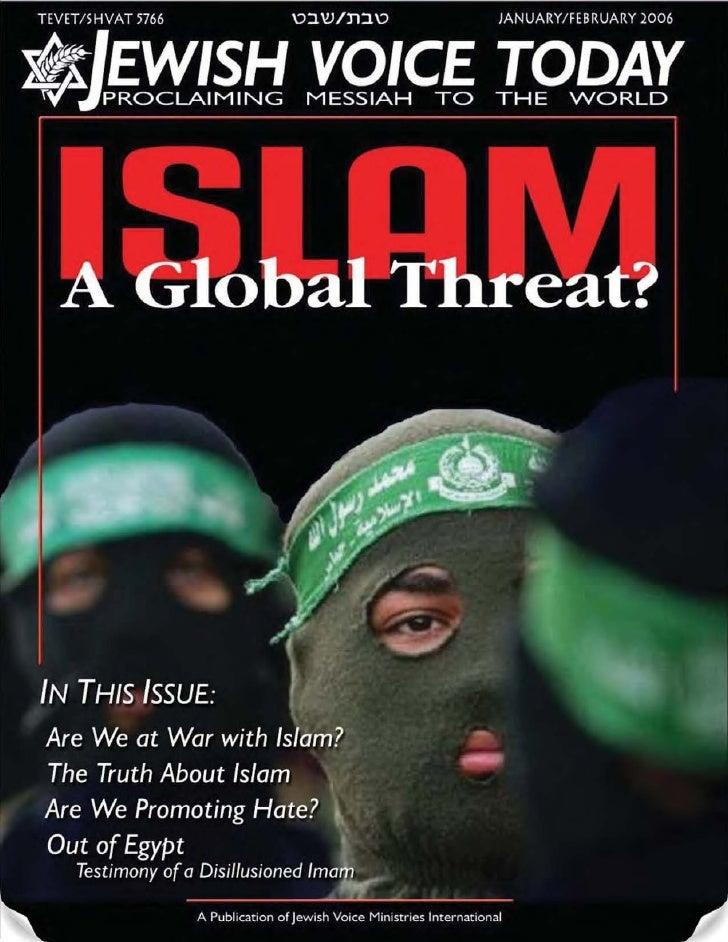 Islam-A Global Threat? -  Jvt -  Jan/Feb 2006