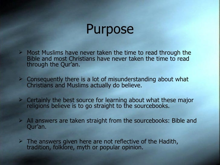 Islam and Christianity Slide 2