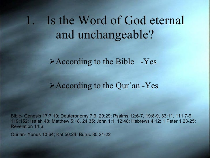Islam and Christianity Slide 3