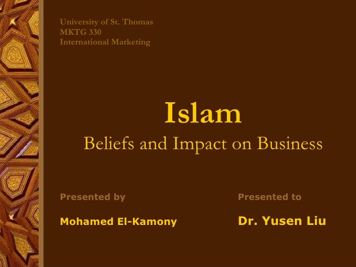 international islamic marketing and its impact Journal of islamic marketing | read 242 articles with impact on researchgate, the professional network for scientists  as the international students who have satisfactory experience with the .