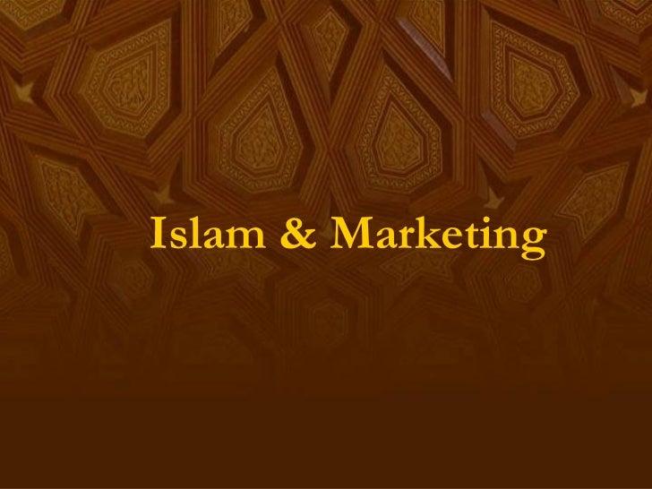 Islam & Marketing