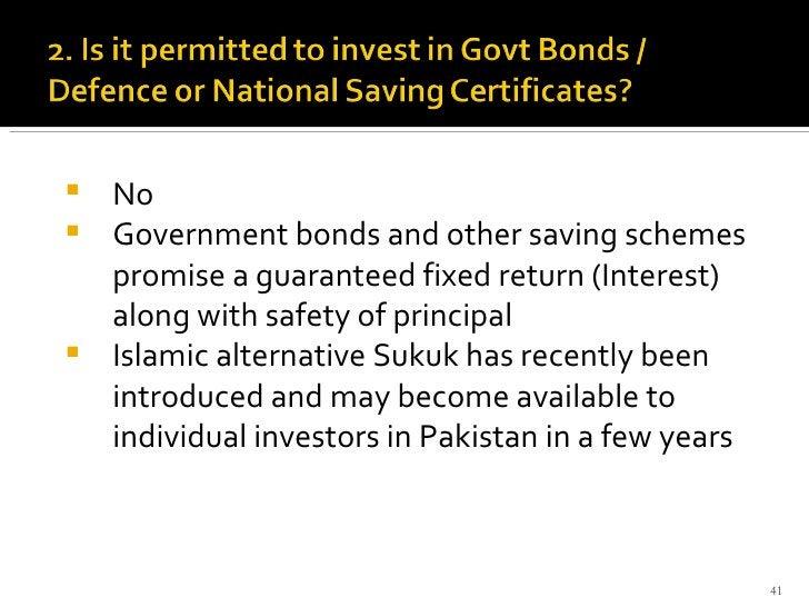 <ul><li>No </li></ul><ul><li>Government bonds and other saving schemes promise a guaranteed fixed return (Interest) along ...