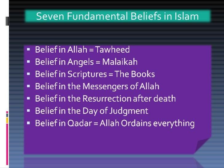 ISLAM - Islamic Beliefs