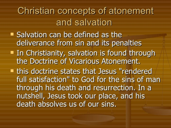 """theology of atonement and salvation The atonement in anabaptist theology he speaks definitely only once about the atonement as salvation """"anabaptist theology of atonement,"""" 44."""