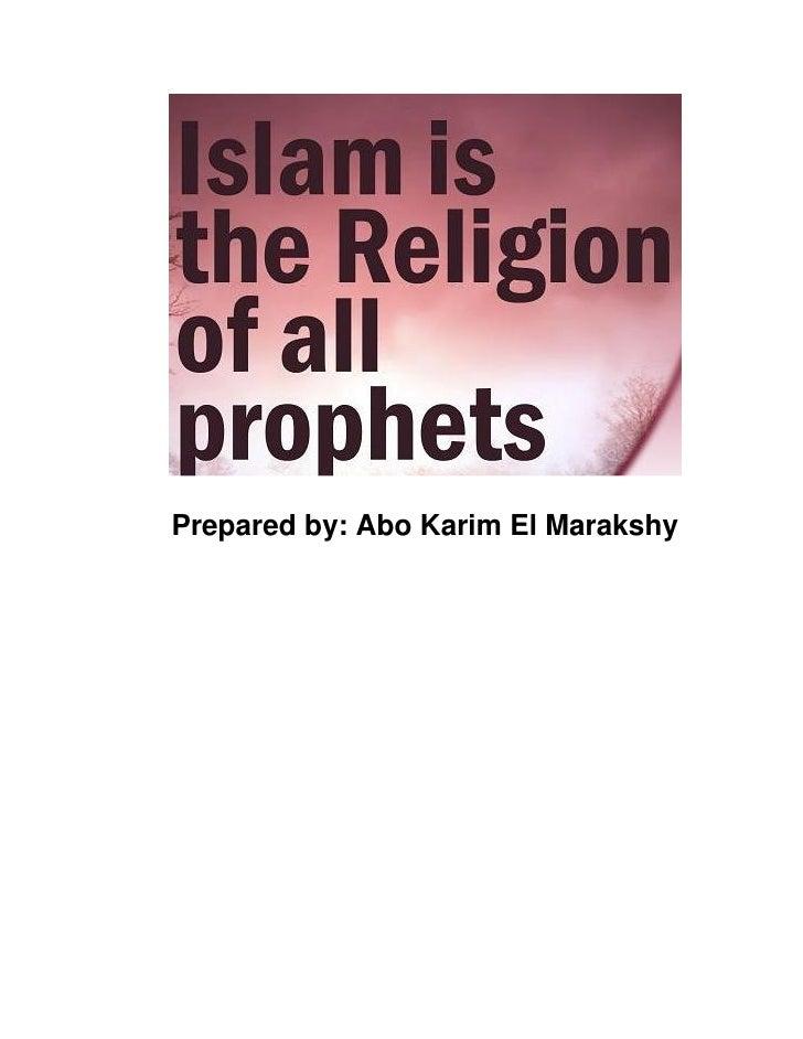 Prepared by: Abo Karim El Marakshy