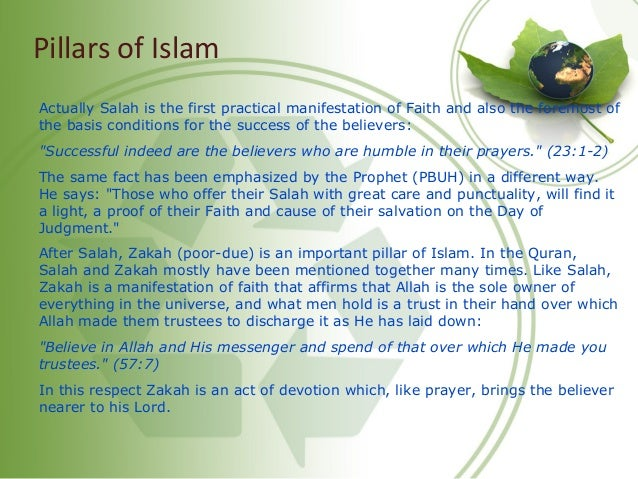 Importance of Salah • Direct Link w/Allah :: Recitation of Fatihah, Allah answers directly • Direct Spoken Order from Alla...