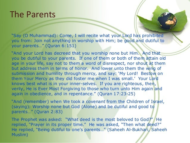 The Children And Allah has made for you from yourselves mates and has made for you from your mates sons and grandchildren ...