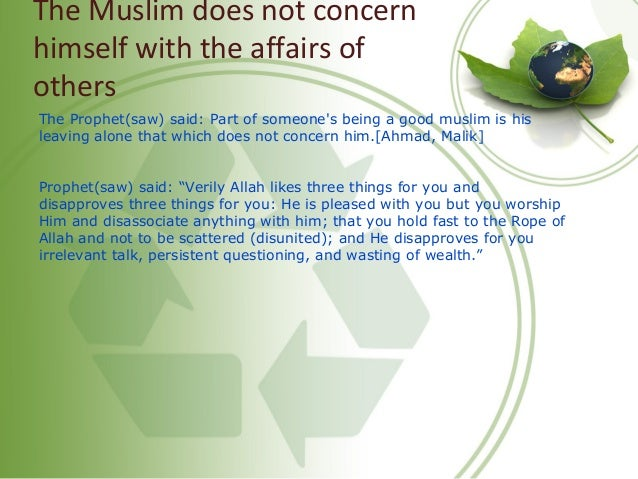 Follow Up a Bad Deed with a Good Deed And Remember Allah Messenger of Allah (peace and blessing of Allah be upon him) said...