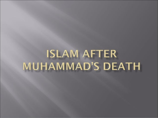    Describe the role of Islamic leaders in the    spread of Islam after Muhammad's death     Who were the leaders who sp...