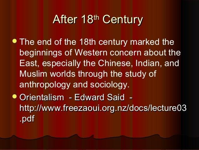 crisis in orientalism edward said pdf