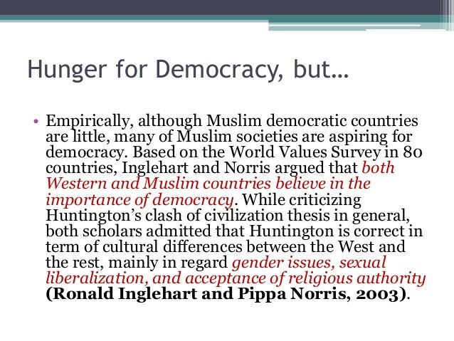 The true clash of civilization by ronald inglehart and pippa norris