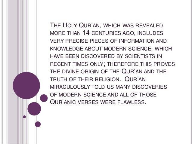 islam and science presentation adrita