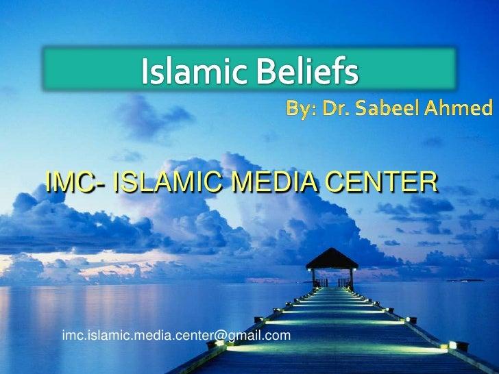 Islam Beliefs-Imc