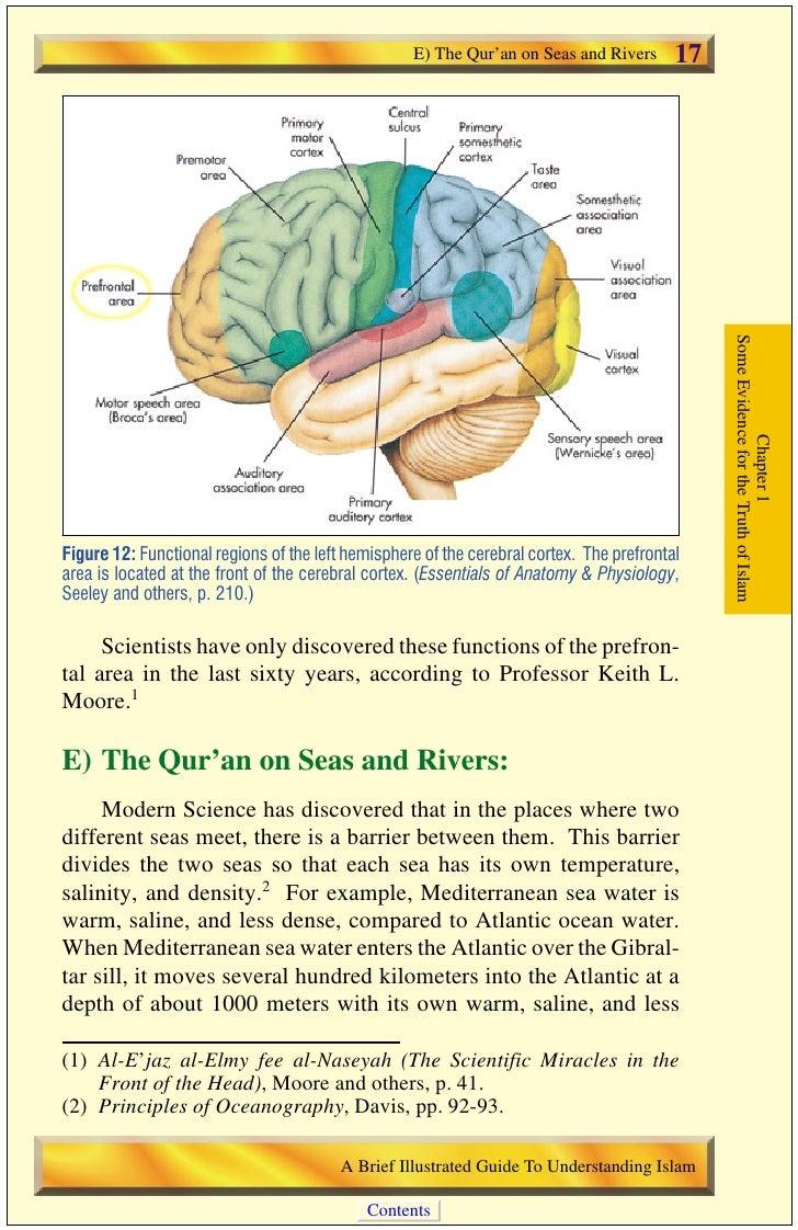 18   E) The Qur'an on Seas and Rivers                                           dense characteristics. The Mediterranean w...
