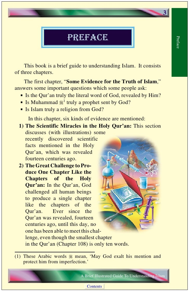 4                3) Biblical Prophecies on the Advent of Muhammad r, the                   Prophet of Islam: In this secti...