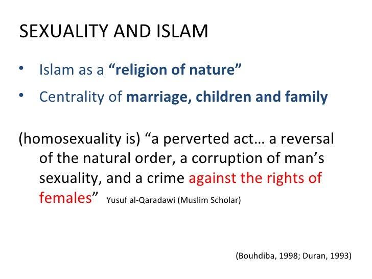 Muslim religious views on homosexuality