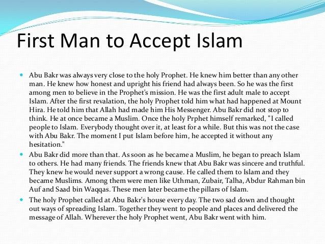 Essay on hazrat abu bakr siddique - Research paper Example
