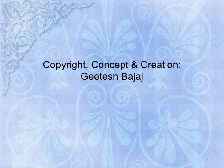 Islamic art ppt template for powerpoint presentation copyright concept creation geetesh bajaj toneelgroepblik Image collections