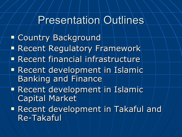the background of islamic banking Khaleq aha e vito russo t, introducing islamic banking in italy, 2014  extent to which shari'a-compliant funding mechanisms, in the context of an asset-rich.