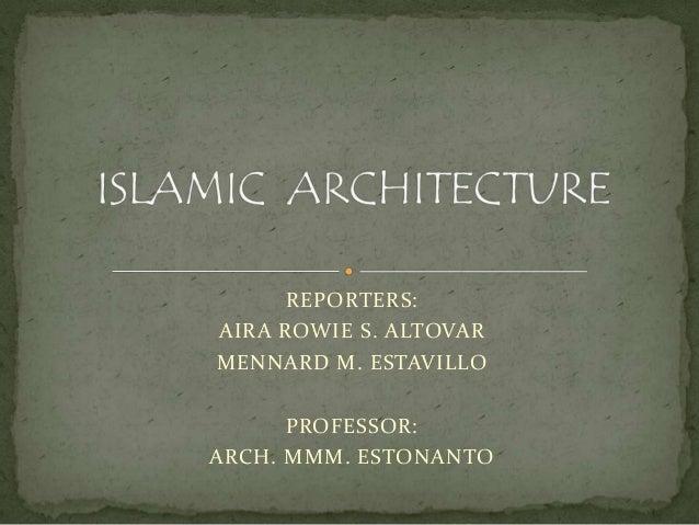 islamic landscape architecture pdf