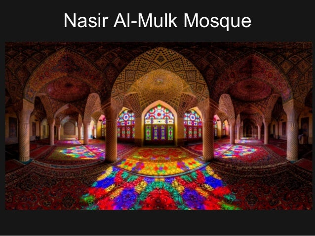 Islamic art and stained glass