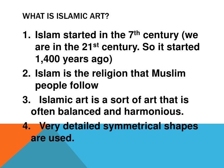 Islamic art homework