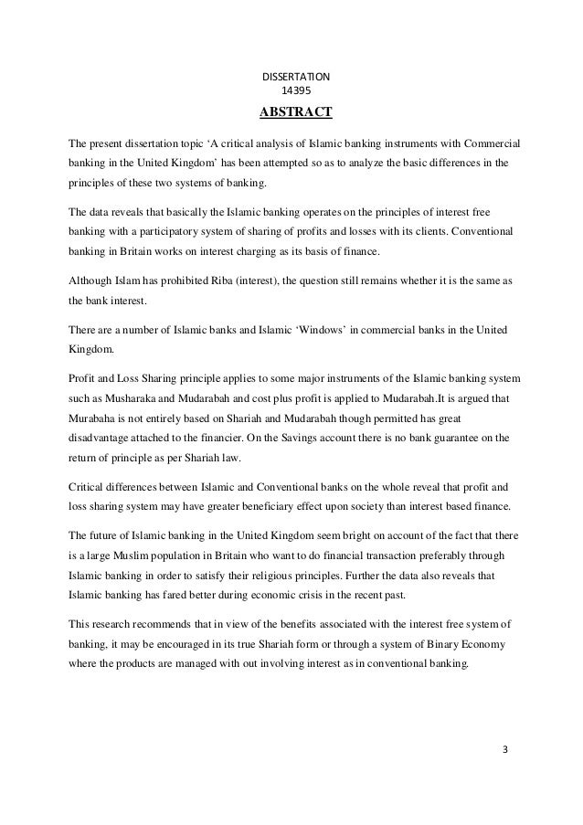 islamic finance dissertations University of new orleans theses and dissertations dissertations and theses 5-18-2012 two essays in islamic finance and investment chapter 1: islamic finance.
