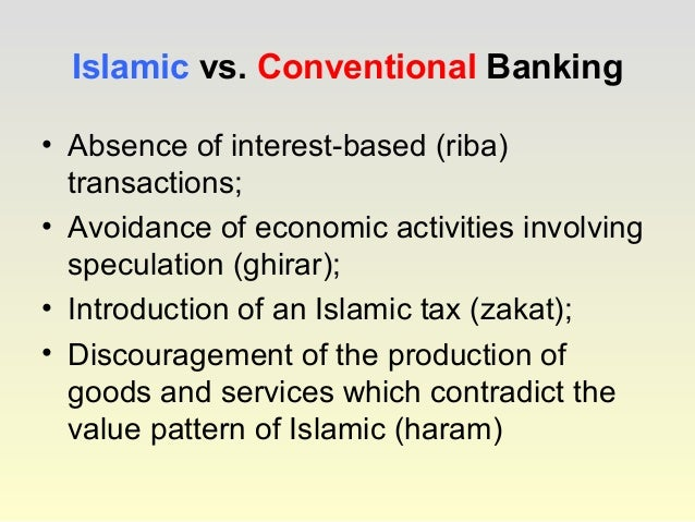 conversion conventional to islamic banks Difference between islamic banking and conventional banking let us first understand the major difference between islamic banking and conventional banking system  islamic banking is an ethical banking system, and its practices are based on islamic (shariah) laws.