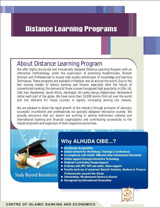 Post Graduate Diploma On Islamic Banking And Finance
