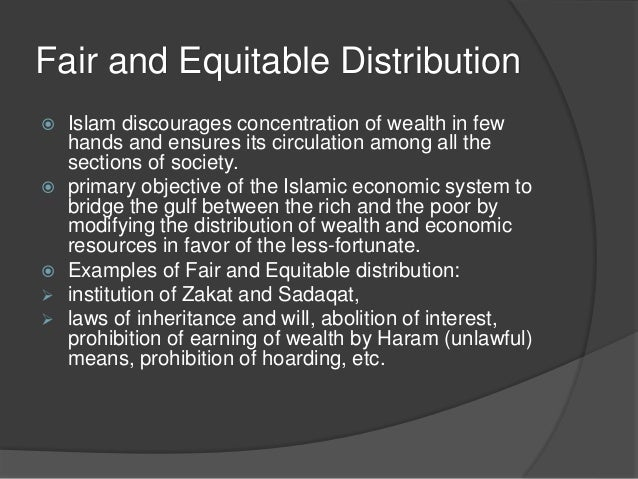 the path to equal distribution of wealth in society The distribution of the wealth is one of the  the third purpose of the distribution of wealth, which islam  but has given every member of the society equal.