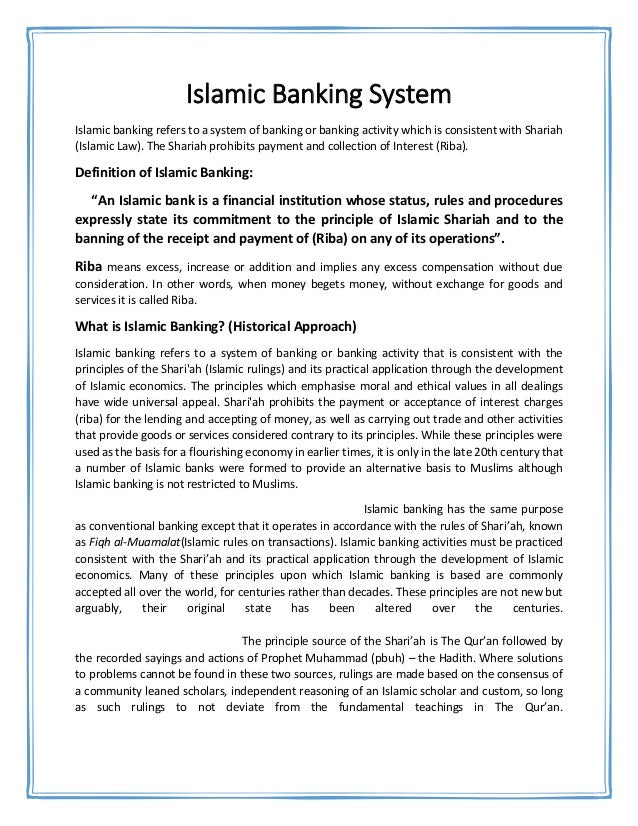 Federalism Essay Paper Essay On Islamic Banking Career Opportunities In Islamic Banking  Political Science Essay Topics also Sample Essay Proposal Banking Essay  Barcafontanacountryinncom Expository Essay Thesis Statement Examples