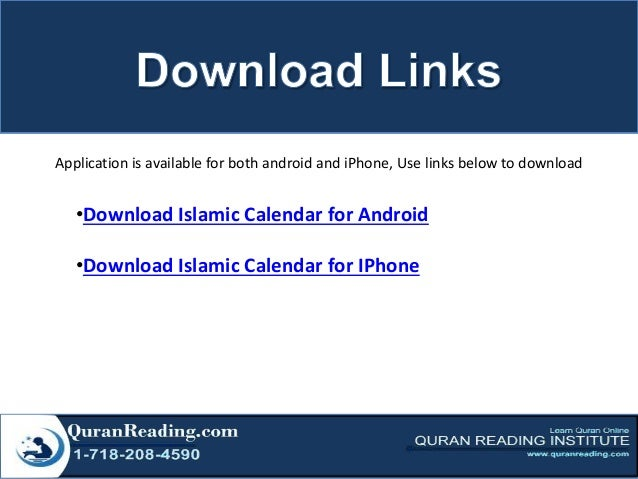 Islamic calendar - Never Miss Important Dates