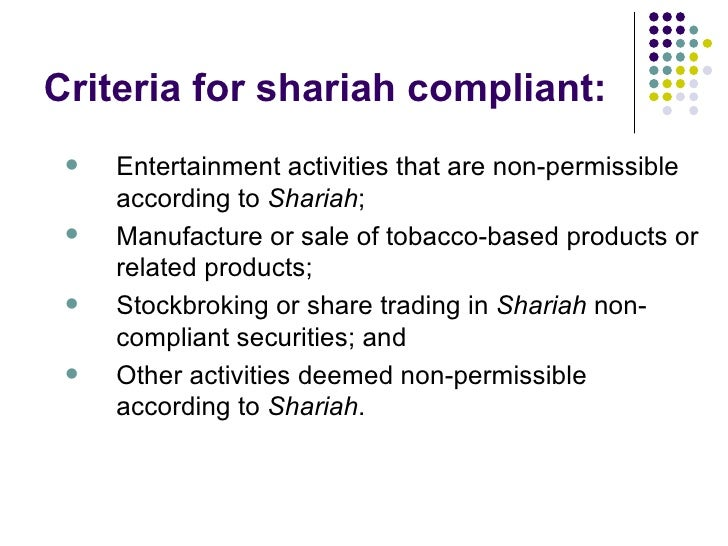 shariah non compliance A comprehensive guide to one of the key risk management issues in the expanding field of islamic finance for islamic financial institutions, sharia non-compliance is.