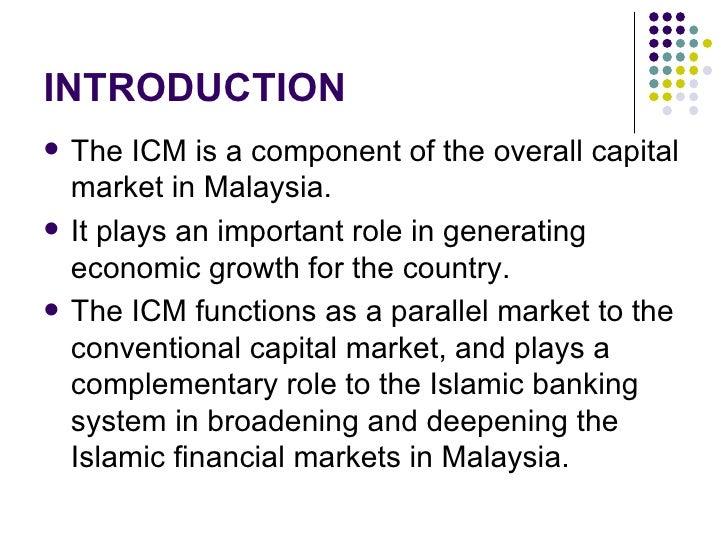 Islamic Capital and Money Market