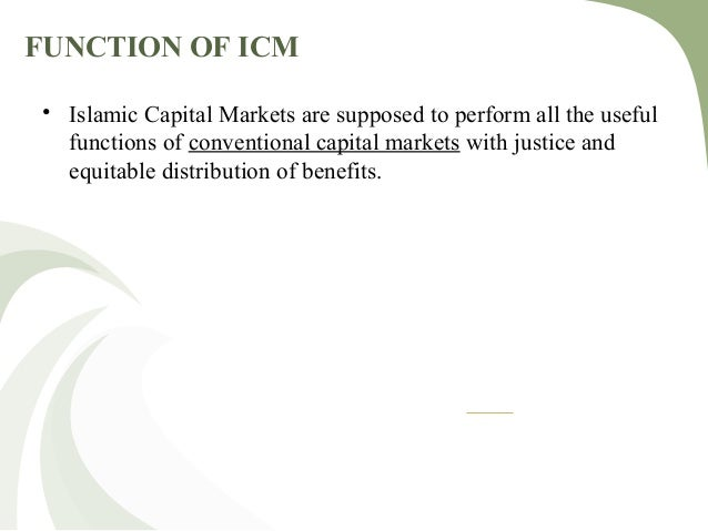 thesis on islamic capital market Securities and exchange commission (sec), oversee the capital markets in their designated jurisdictions to ensure that investors are.