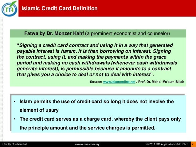 islamic credit cards Islamic cards are shariah compliant cards that are riba-free and allow you to enjoy the benefits of a credit card without compromising your faith islamic credit cards also come with benefits like cash back, reward points, and even free takaful insurance.