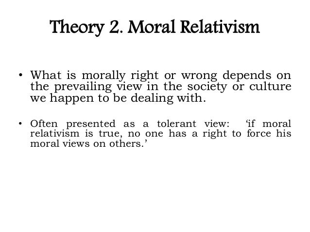 concept of ethical relativism Normative ethical relativism is a theory the theory of normative ethical relativism runs counter to our ordinary experiences and concept of morality.