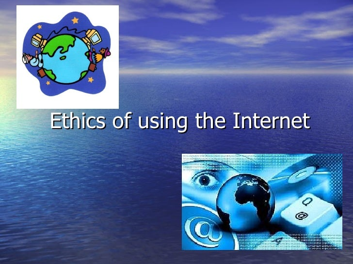 cyber ethics rules for using the Cyber-ethics and the perceptions of internet users: a case study of university students of islamabad  the apparent rules and understanding of various cyber.