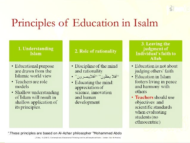 islamic philosophy of education in urdu