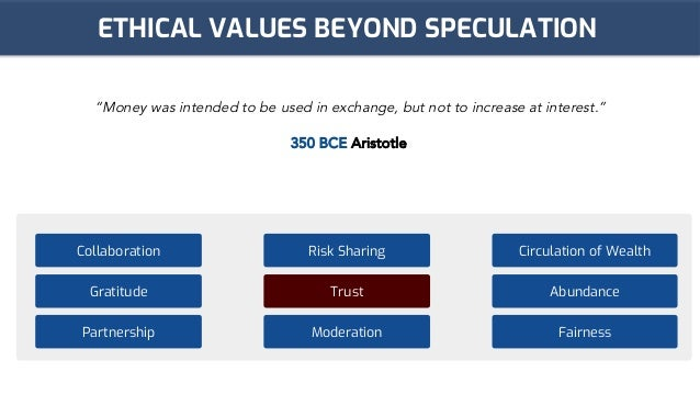 BCE : Islamic Finance Decentralised Slide 2