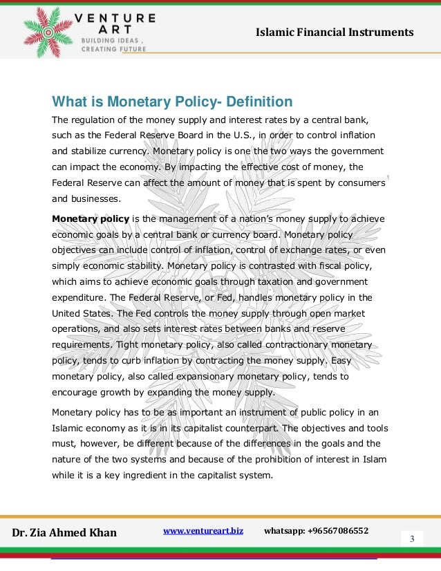 finance defination monetary policy Define clearly what is meant by the lending channel it is perhaps easiest to do so  by contrasting the lending view of monetary policy transmission with the simpler,  and  lending channel are satisfied in today's financial environment are they.