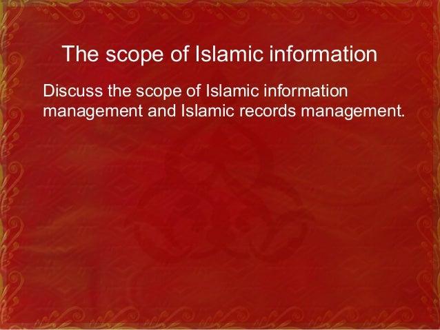 Characteristics of Islamic Records