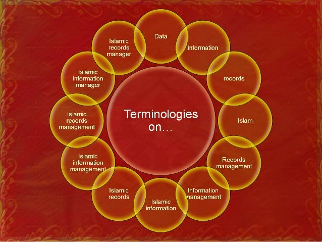 Terminologies of Islamic information and records discipline • Data • Representation of information in a formalized manner ...