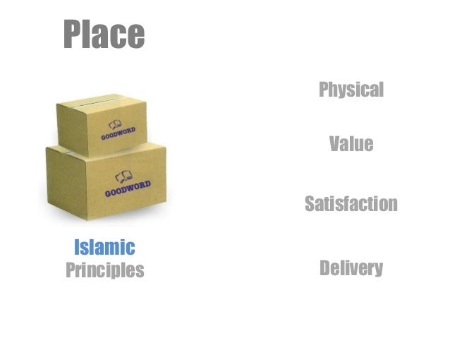Place Islamic Principles Value Satisfaction Delivery Physical