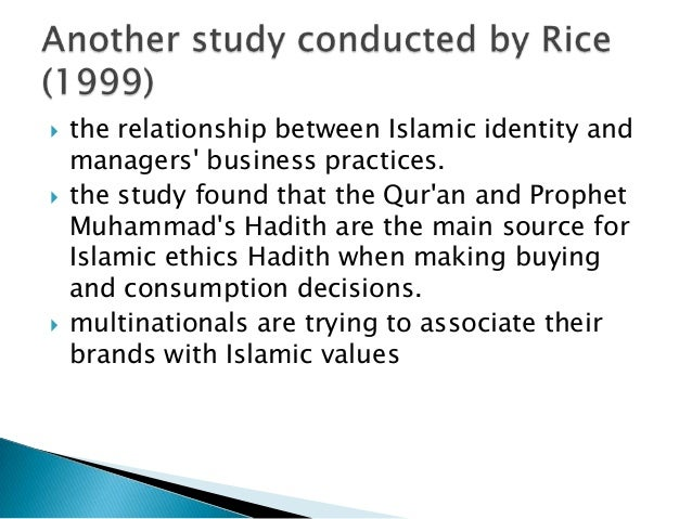       study investigated the area of Islamic branding understanding of Islamic branding through conceptualizing the ter...